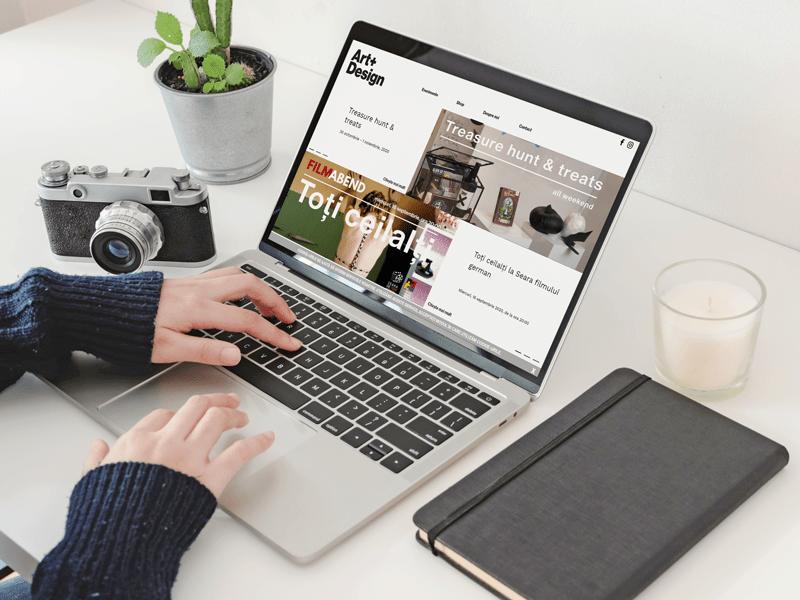 ArtPlusDesign.ro – Website Design
