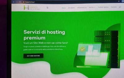HappyHosting – Web design pentru Firmă Găzduire Online