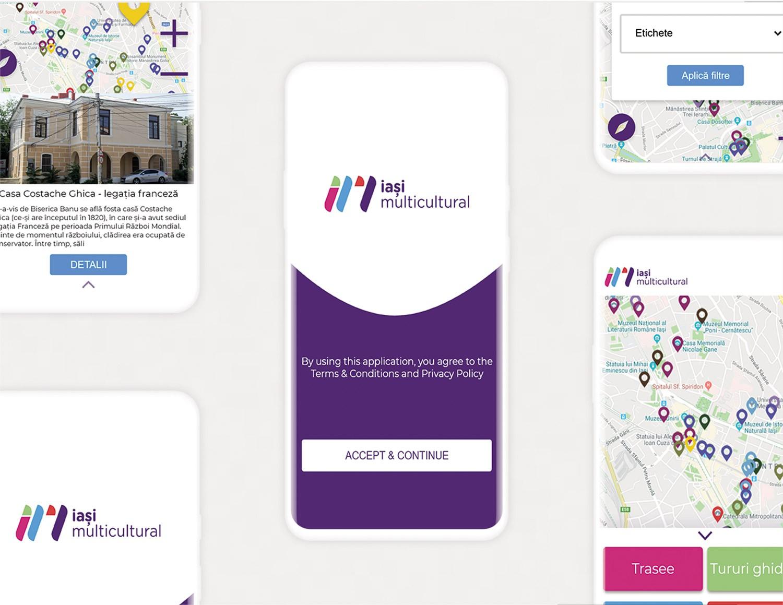 Smart turist app design branding logo design ui ux